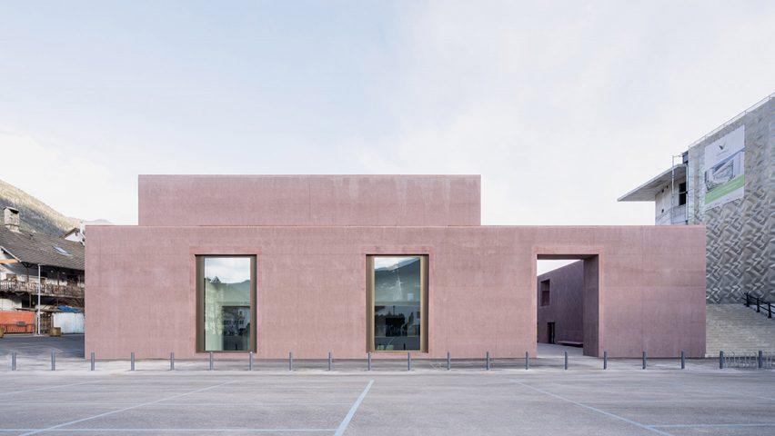 The Music School of Bressanone by Carlana Mezzalira Pentimalli