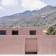 Carlana Mezzalira Pentimalli designs music school with patterned concrete walls