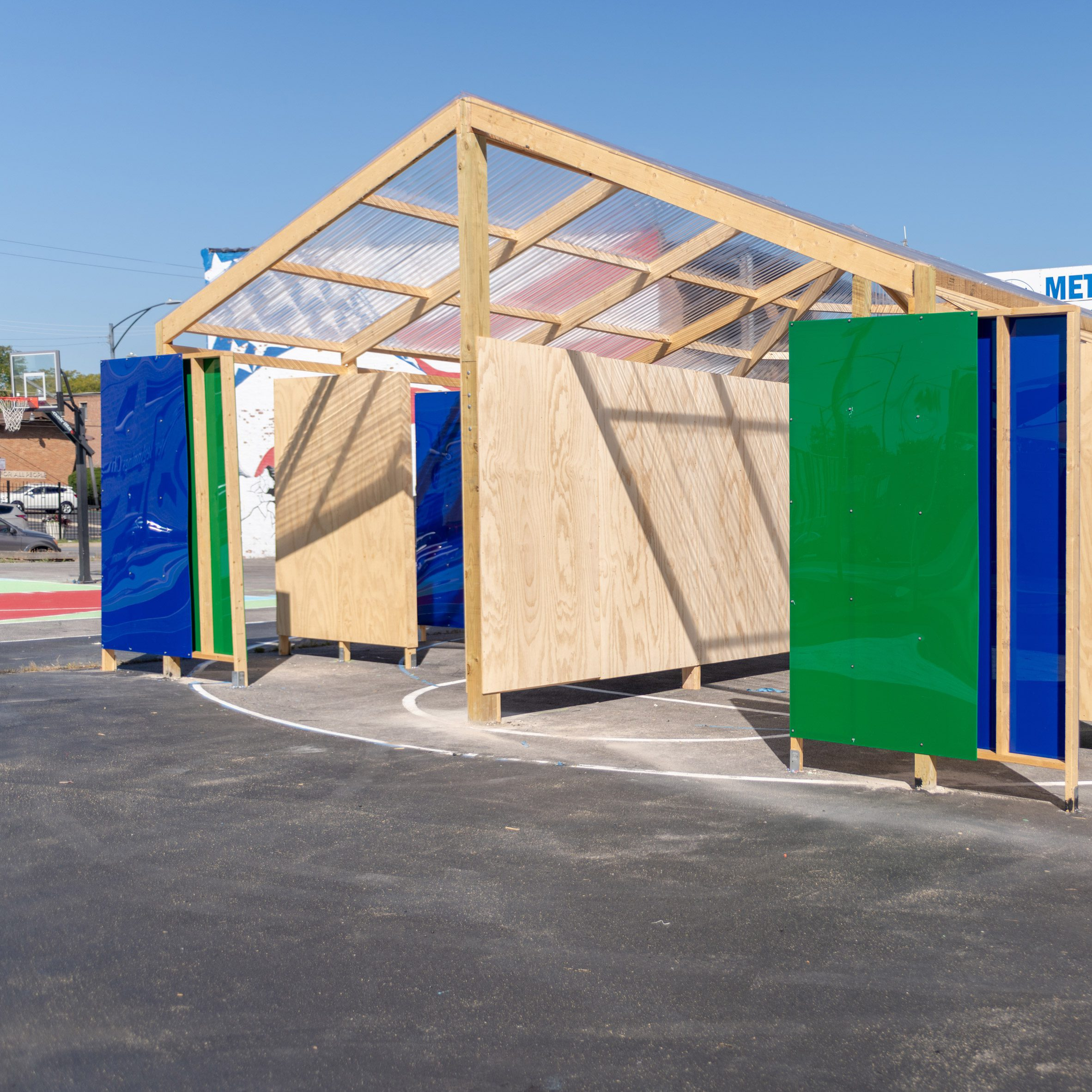 Woodlawn Canopies: Stories and Futures by Norman Teague Design Studios