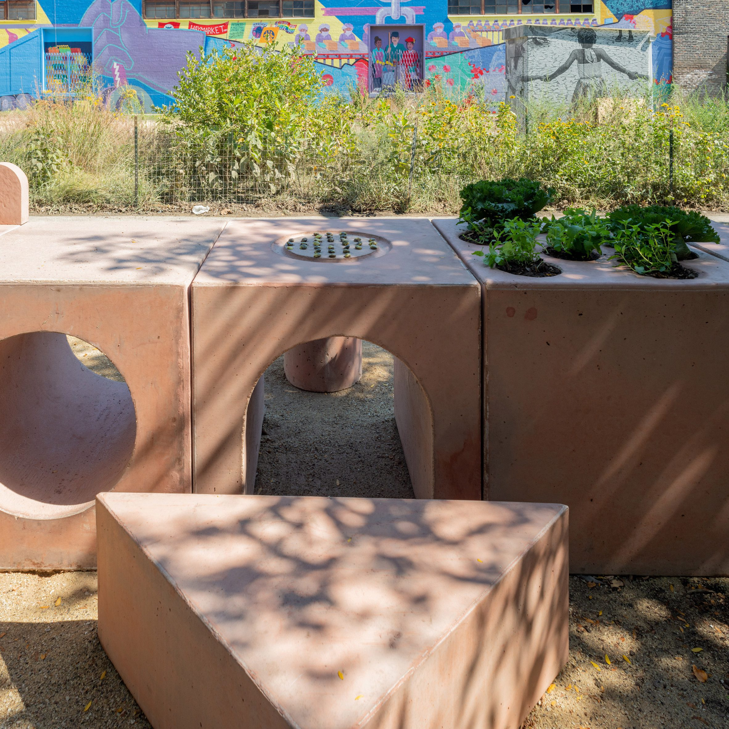 The Garden Table by Studio Ossidiana