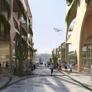"Commenter says Bjarke Ingels' desert city is ""like a greenwashed Vegas"""