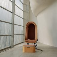 Alexia Audrain designs hugging chair to comfort people with autism