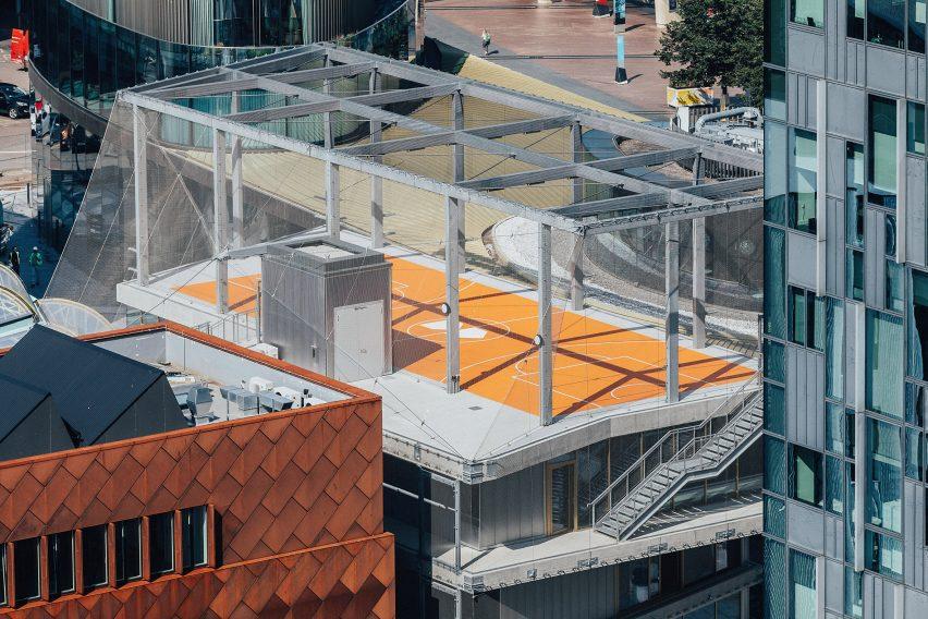 Architecture 00's block at Greenwich Design District