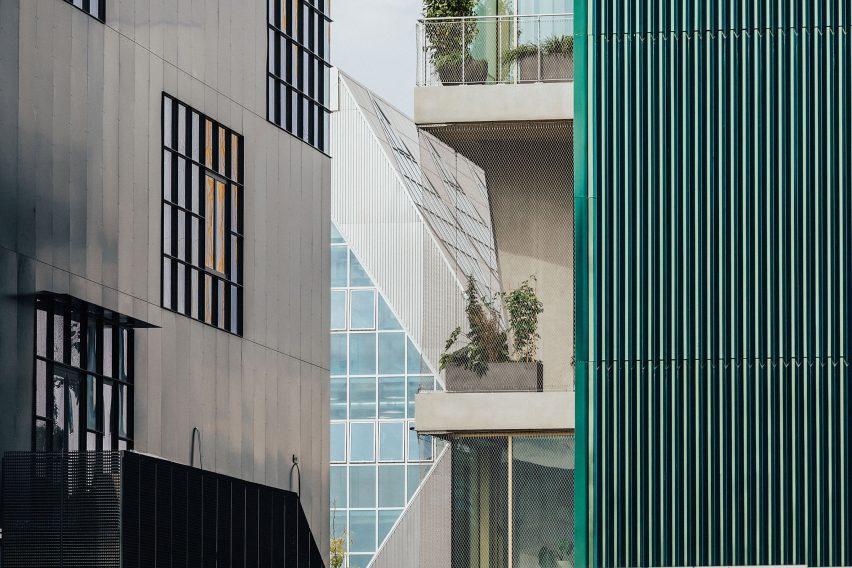 Mole Architects workspace block