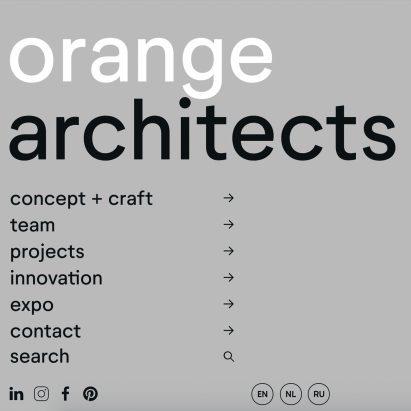 Orange Architects by Enchilada and PMS72