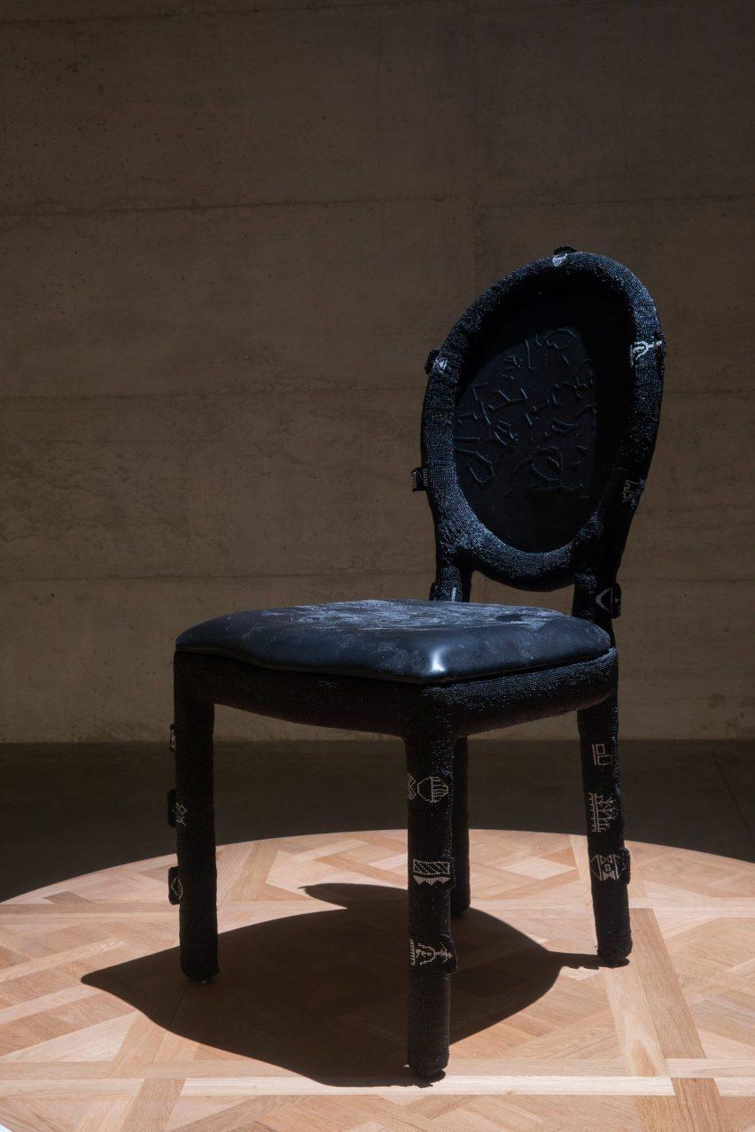 Atang Tshikare's Dinaledi chair
