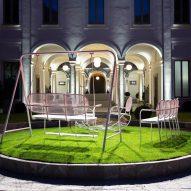 Dior Medallion chair exhibition