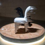 Atang Tshikare, India Mahdavi and Nendo reinterpret Dior's Medallion chair