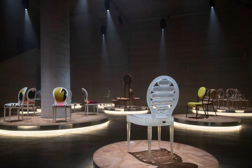 Dior Medallion exhibition in Milan