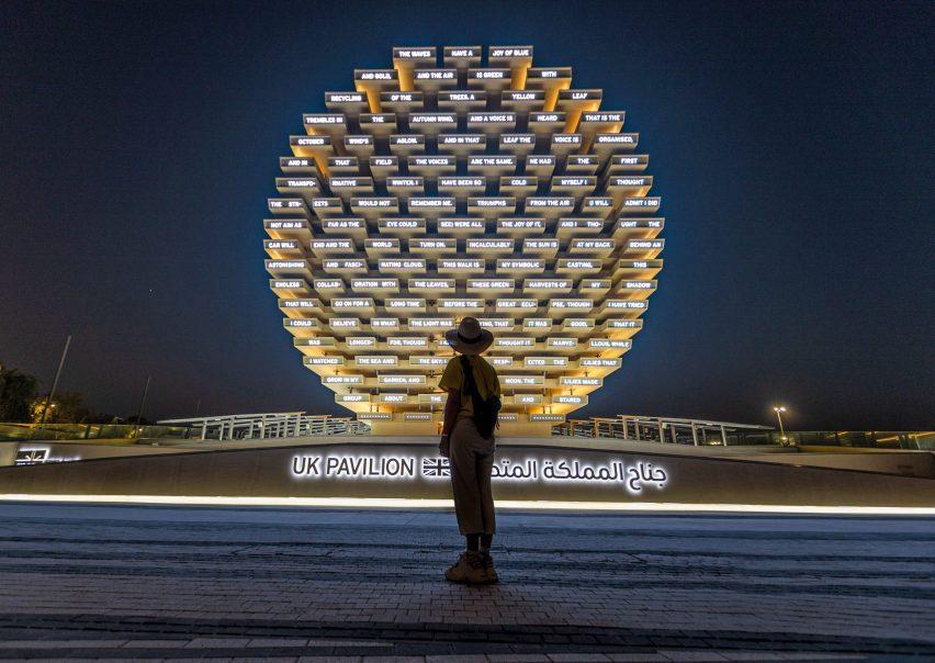 UK Pavilion at Dubai Expo 2020