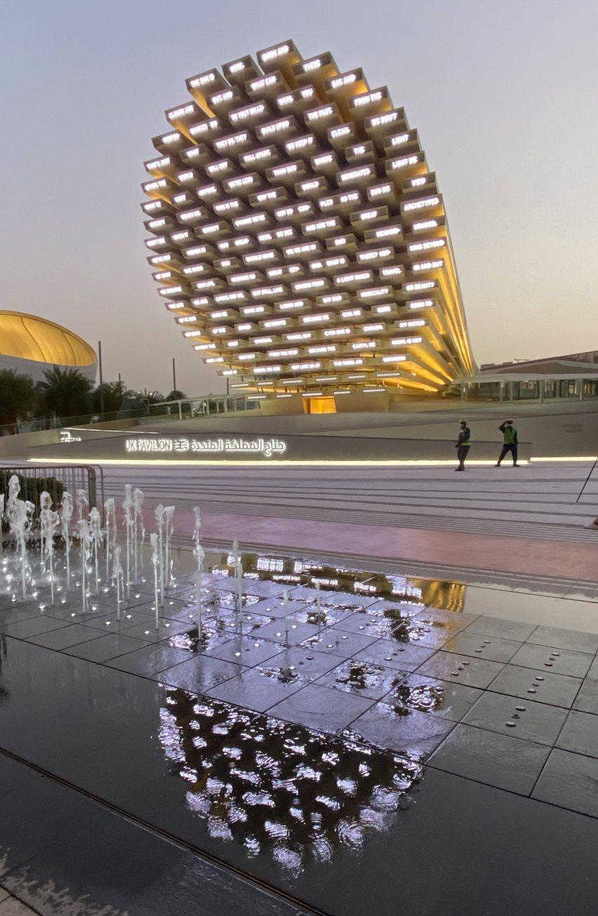 UK Pavilion at Dubai Expo