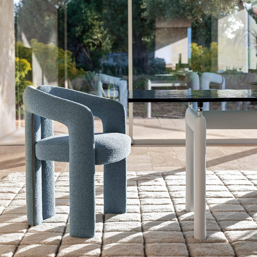 Dudet armchair by Patricia Urquiola for Cassina