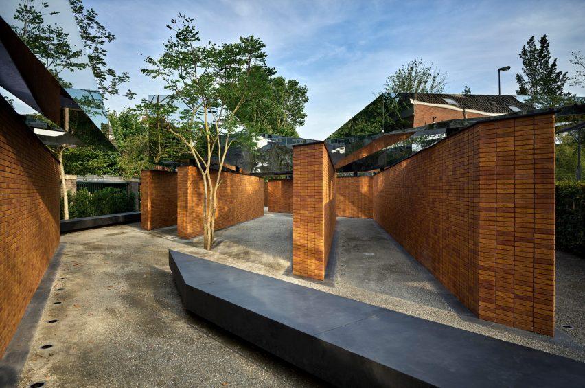 Brick Holocaust memorial by Studio Libeskind