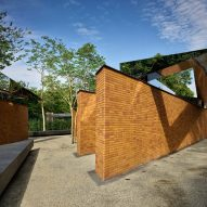 Brick memorial by Studio Libeskind