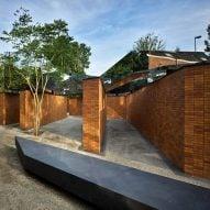 Studio Libeskind completes angular Holocaust memorial in Amsterdam