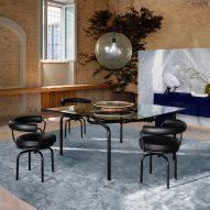 Edison table by Vico Magistretti for Cassina
