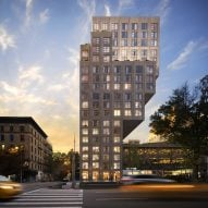 ODA designs Manhattan tower that increases size as it ascends