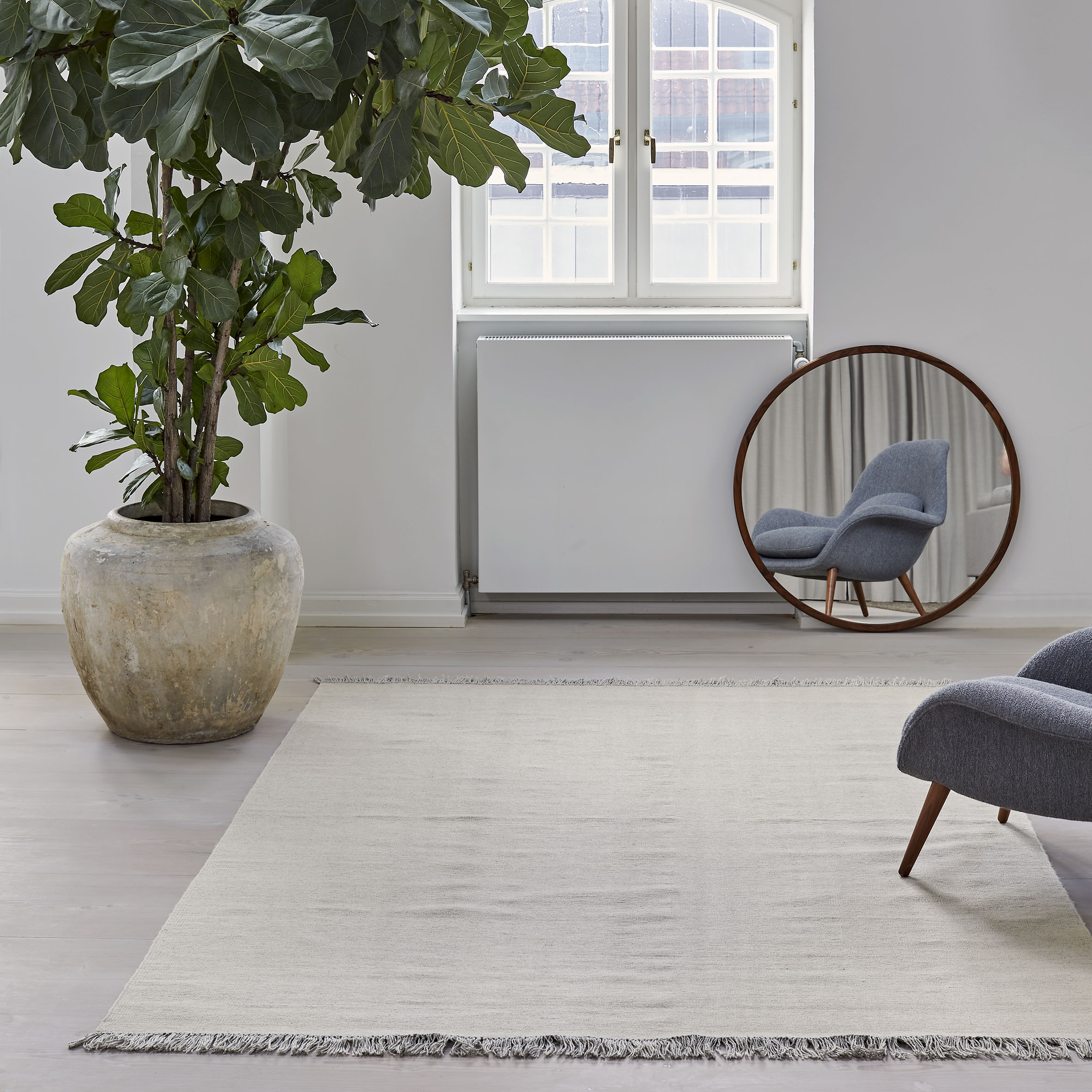 Escape Kelim rug by Space Copenhagen for Massimo Copenhagen