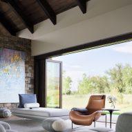 Living room in Flatirons Residence by Tumu Studio