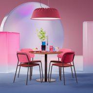 Fost PET Felt acoustic lamp by De Vorm