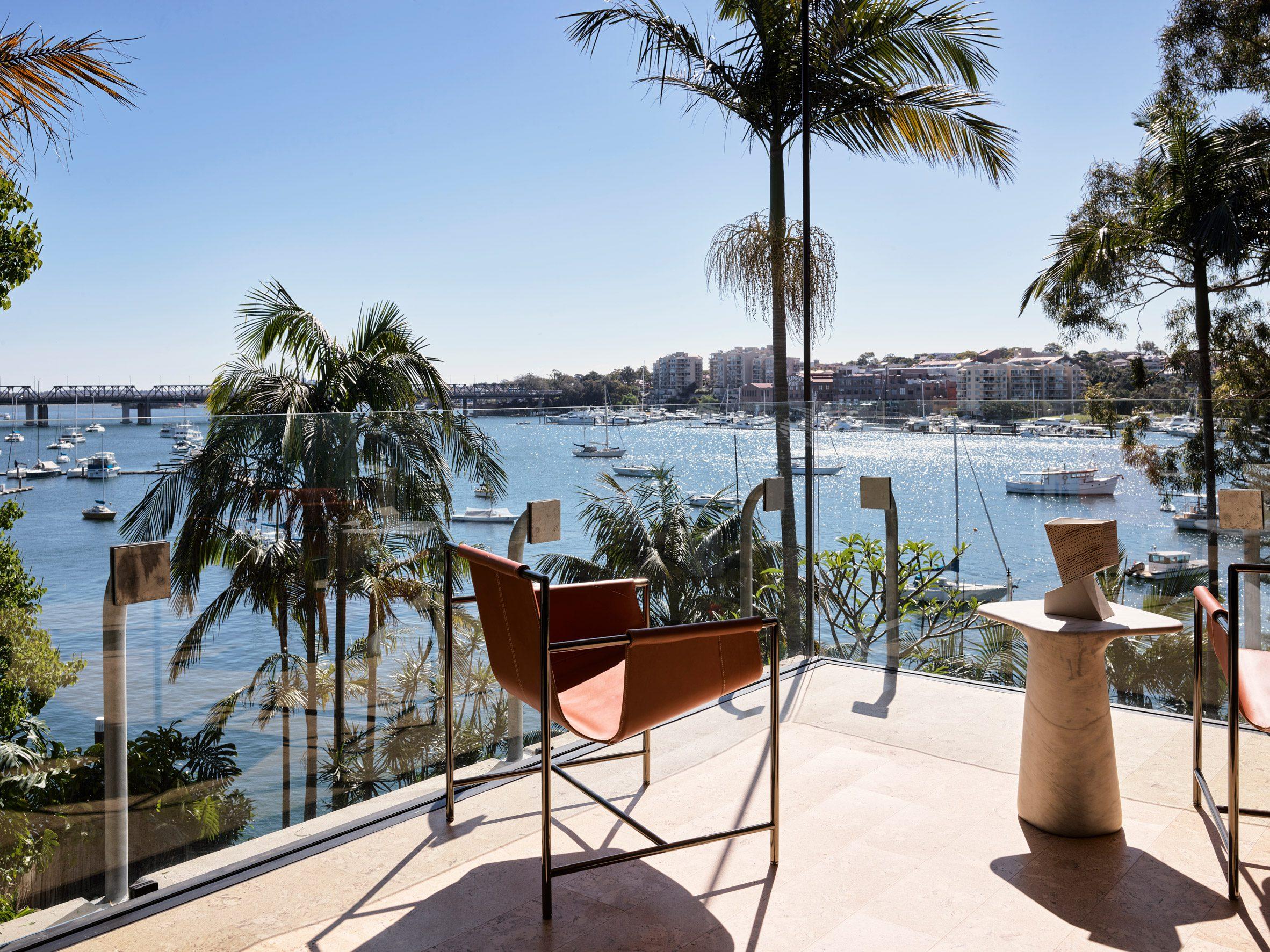 House overlooking Parramatta River