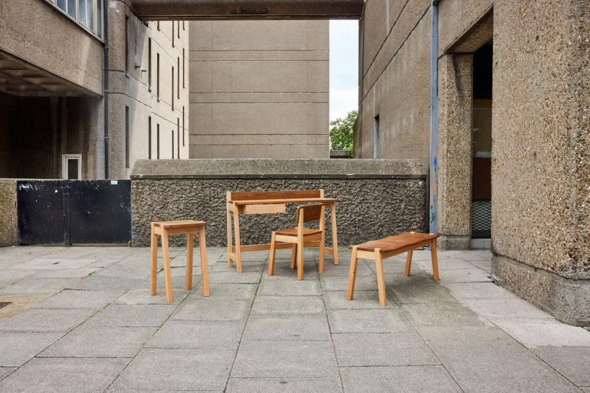 Ayrton Collection by Goldfinger photographed at Trellick Tower