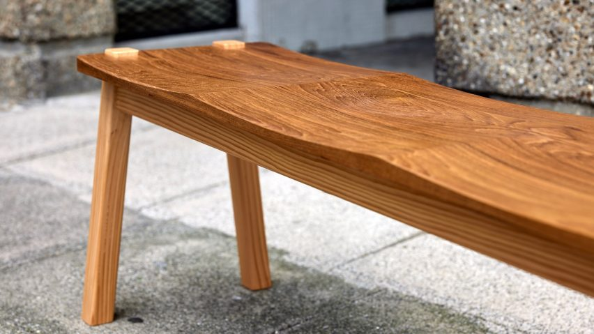 Goldfinger bench from Ayrton Collection