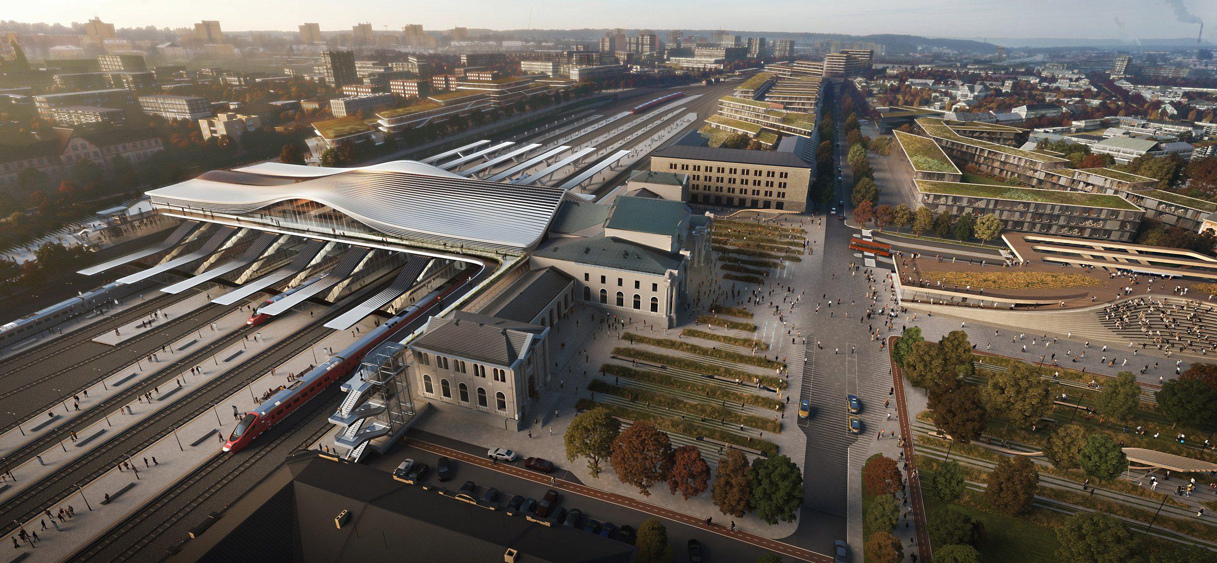 Реконструкция Вильнюсского вокзала