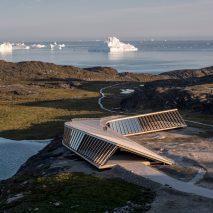 Truss structure of Ilulissat Icefjord Centre by Dorte Mandrup Arkitekter