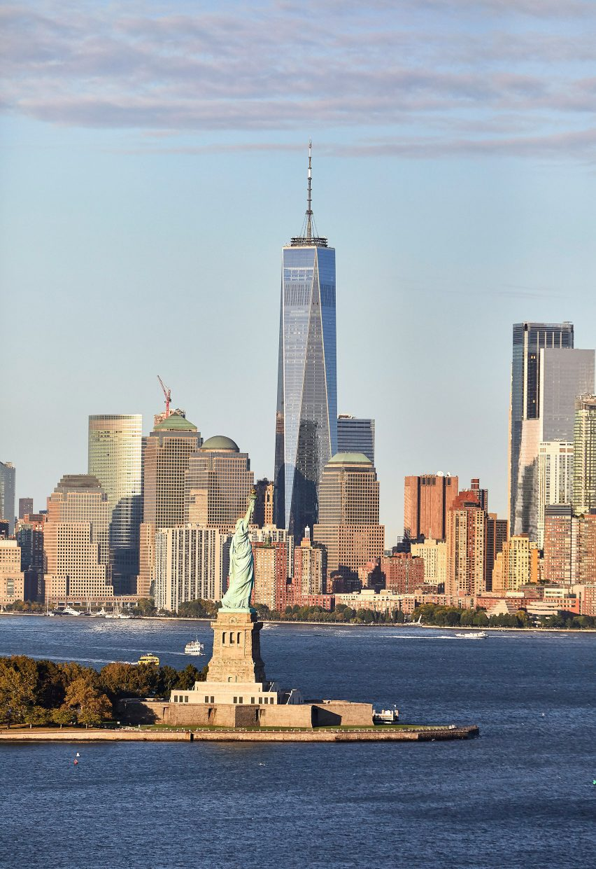 The One World Trade Center by SOM in New York