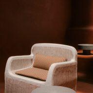 Charlotte Macaux Perelman installtion for Hermès