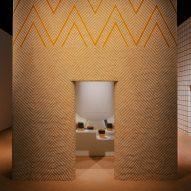 Charlotte Macaux Perelman's installation for Hermès