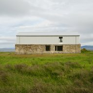 A converted barn in Iceland