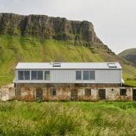 Studio Bua transforms derelict Icelandic farm building into artist's studio
