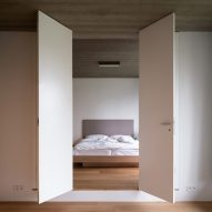 The bedroom of House in Lanškroun