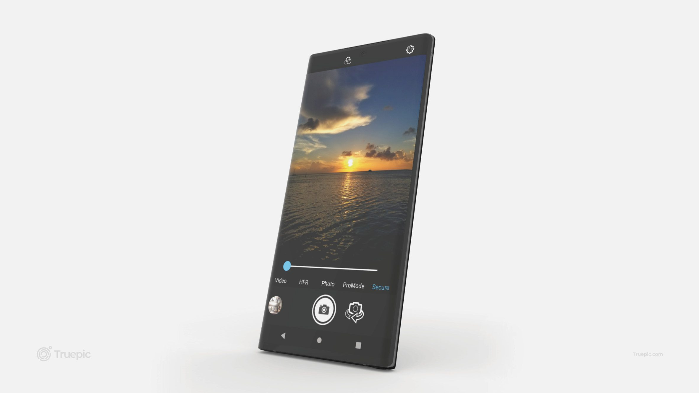 A phone showing a winning design from the INDEX awards 2021