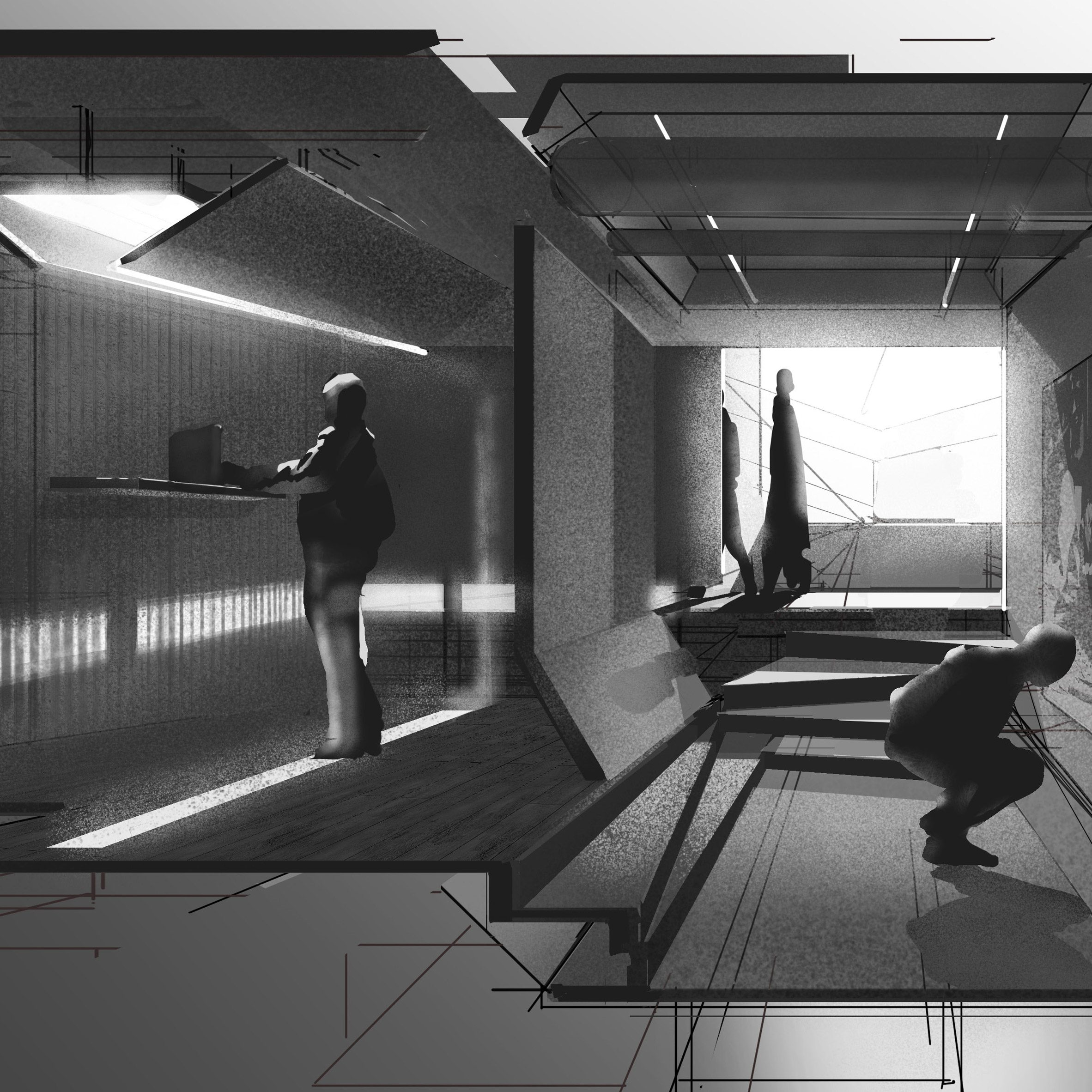 Project by a former architecture student at Ravensbourne University London