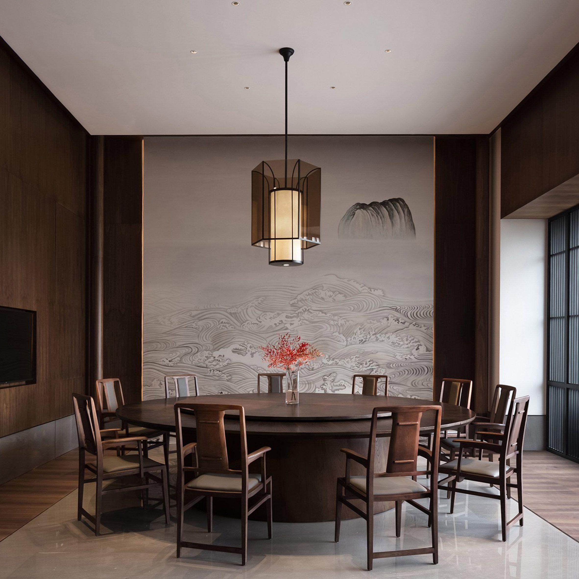 JG Phoenix references Tang dynasty architecture in minimalist Shantou restaurant