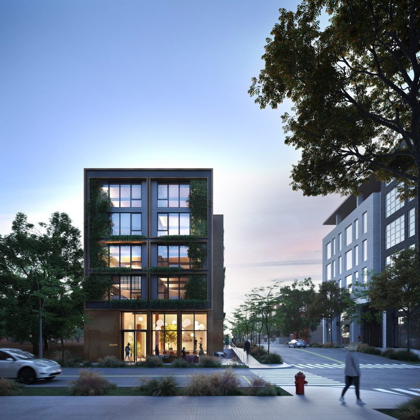 Juno mass-timber housing in Austin