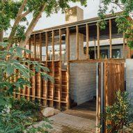 Nielsen Jenkins creates backyard extension for K&T's Place in Brisbane