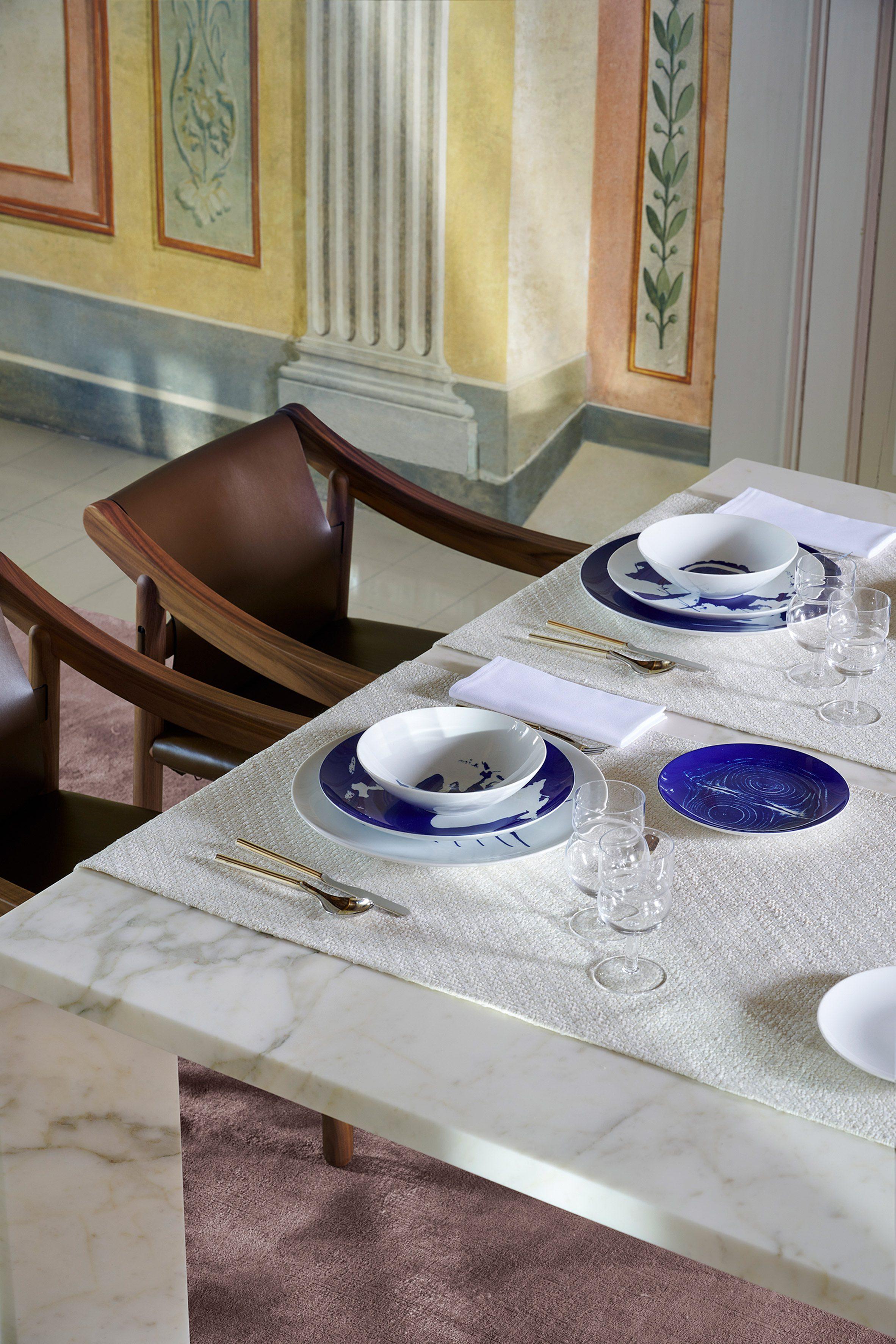 Посуда Le Monde de Charlotte Perriand для Cassina x Ginori 1735