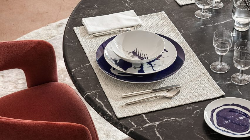 Le Monde de Charlotte Perriand tableware for Cassina x Ginori 1735