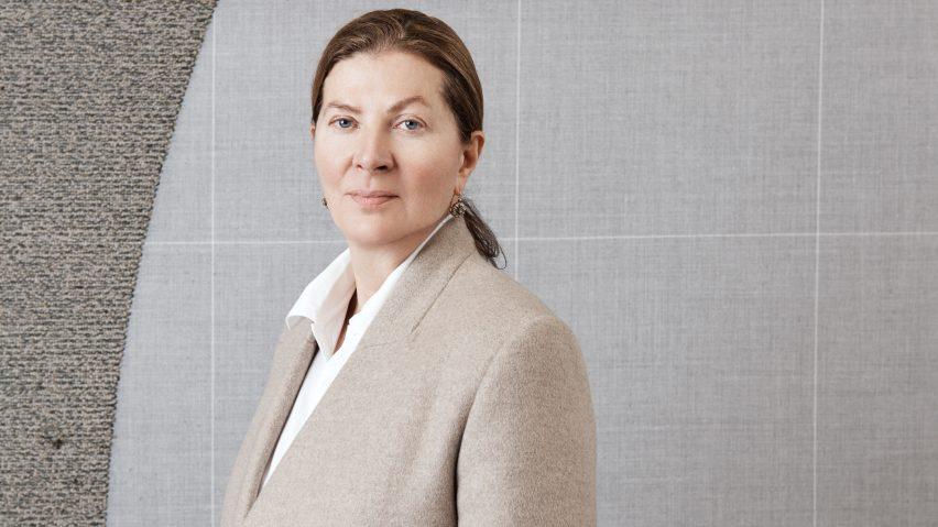 Ilse Crawford portrait for the London Design Medal