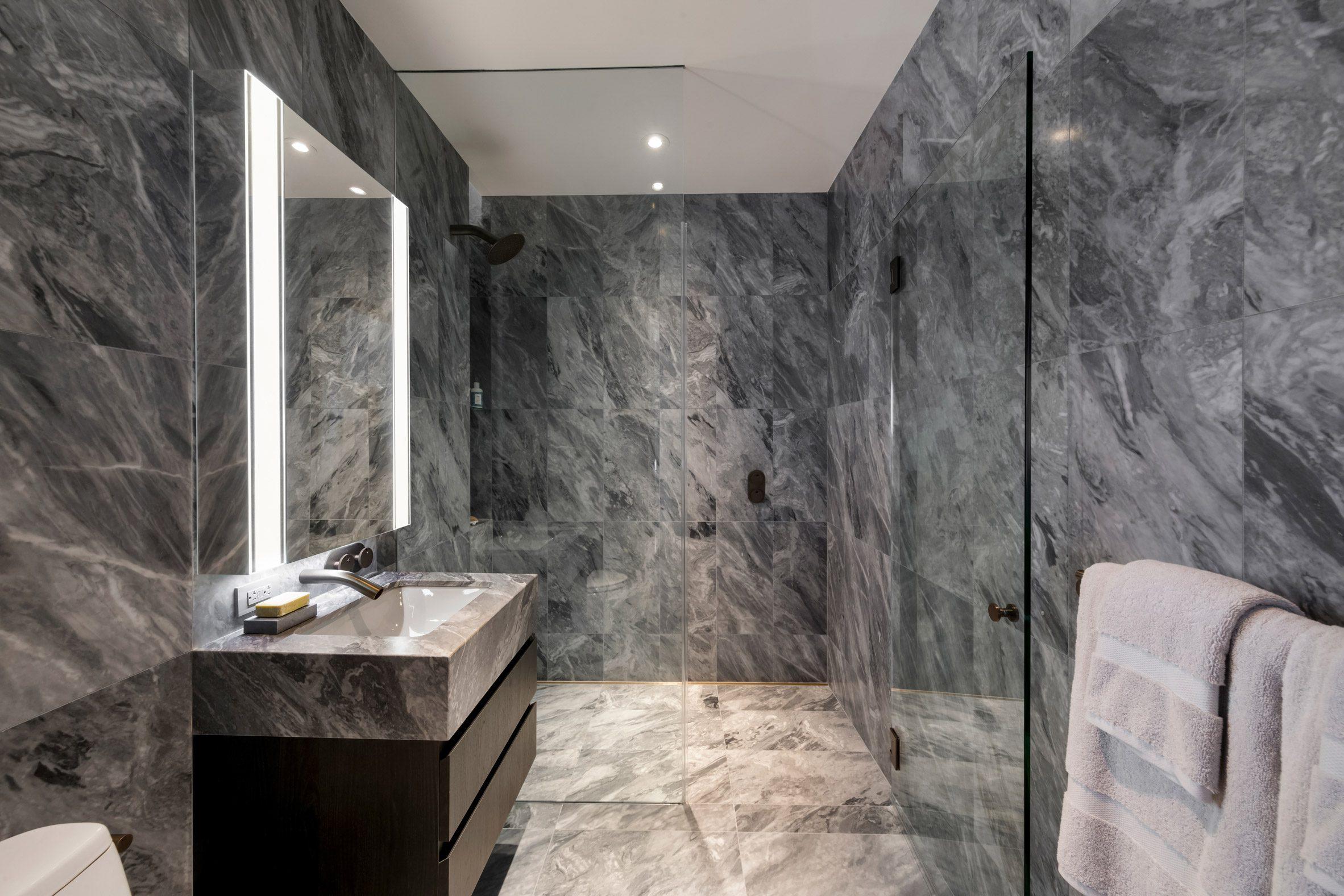 Bathroom at 130 William