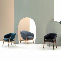 Lugano seating range by Rock Galpin for Morgan