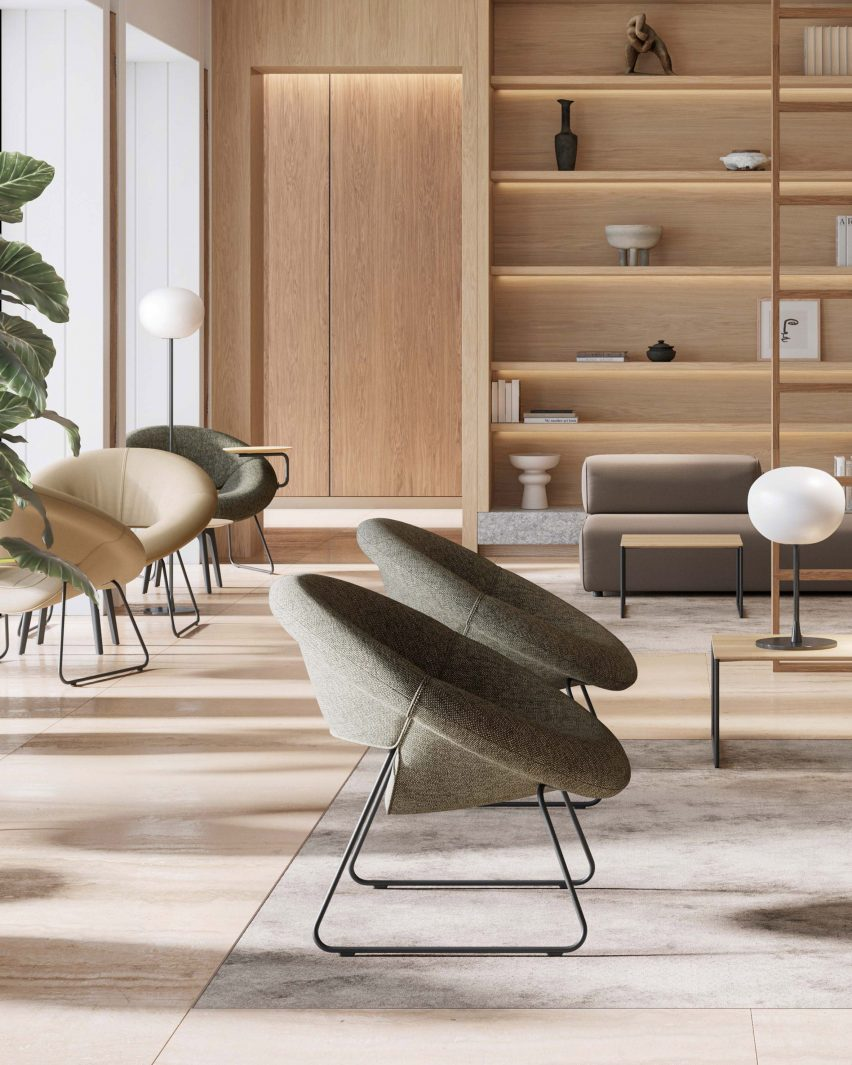 LXR18 armchair for Martin Ballendat by Leolux LX