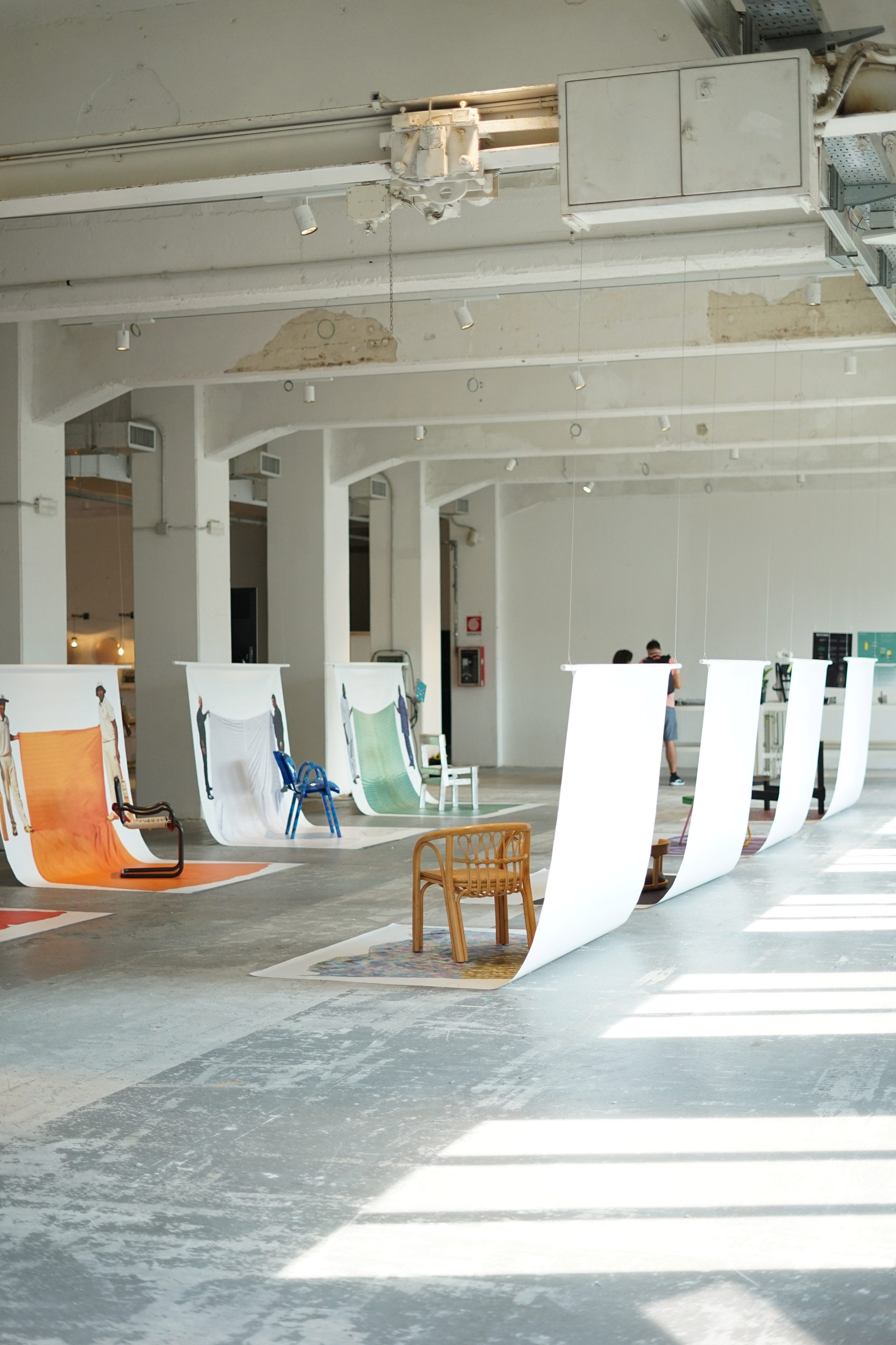 Cross Cultural Chairs exhibition by Matteo Guarnaccia at Milan design week