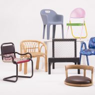 Cross Cultural Chairs project by Matteo Guarnaccia