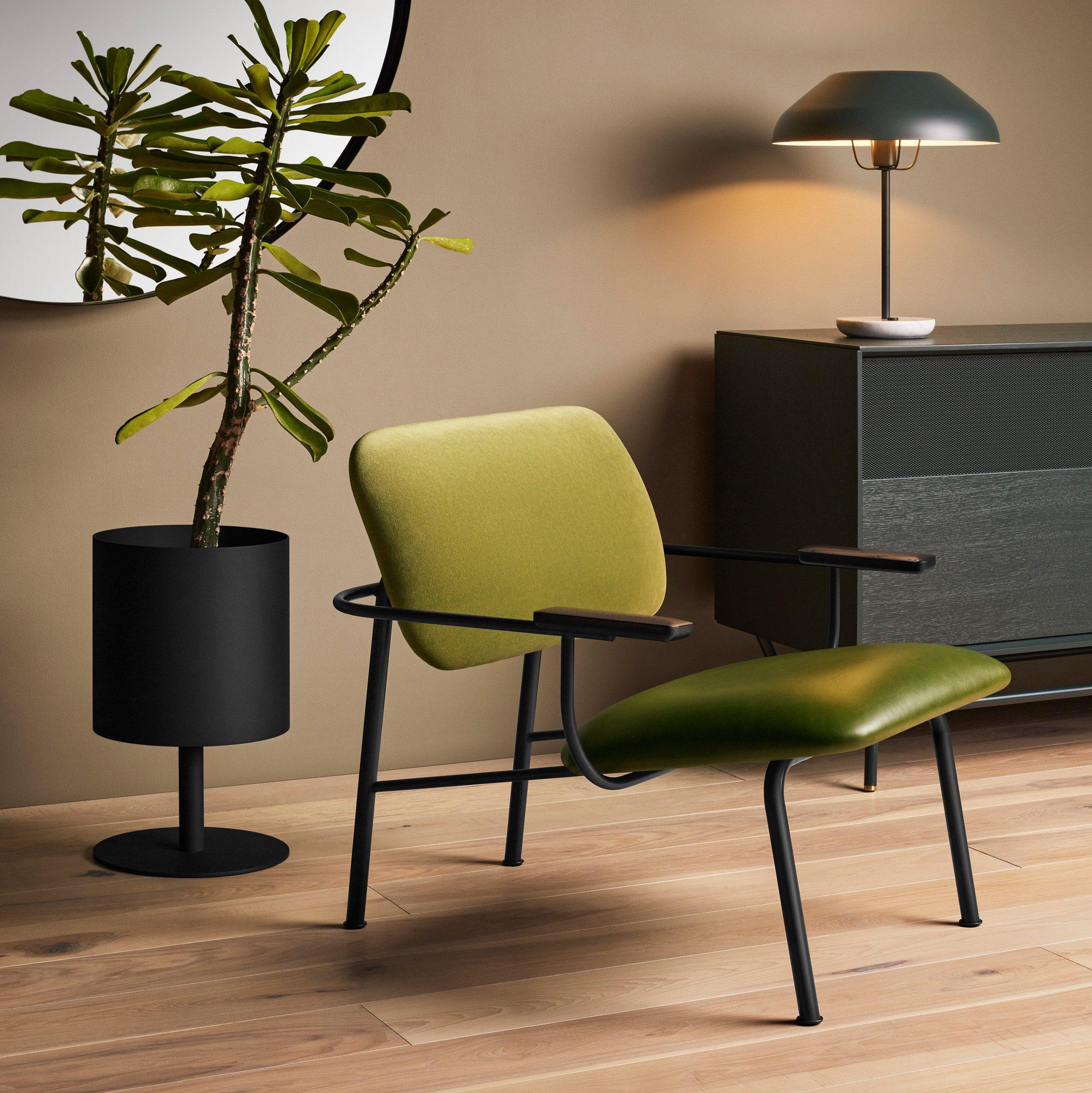 Method lounge chair by Blu Dot among new products on Dezeen Showroom
