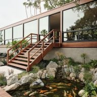 Woods + Dangaran updates 1960s California home by Craig Ellwood
